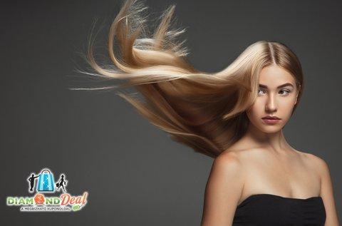 Lisse Design keratinos hajegyenesítés vágással