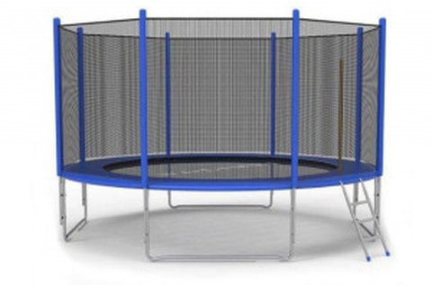 180 cm-es kerti trambulin létrával