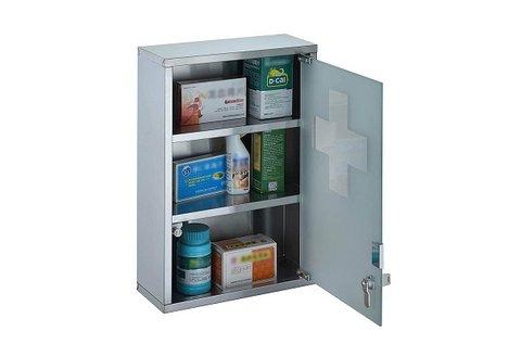 Zárható gyógyszertartó doboz 2 db kulccsal