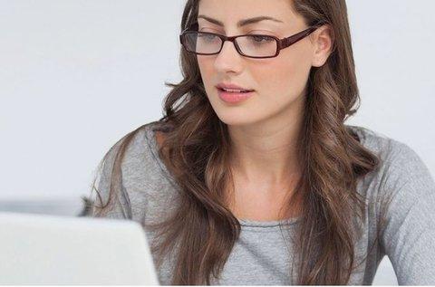 Monitorszűrő szemüveg készítése látásvizsgálattal