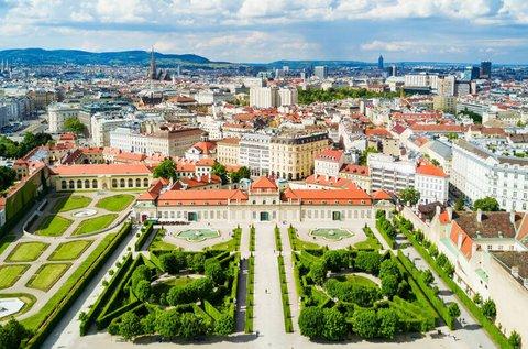 Töltsetek el egy hétvégét kettesben Bécsben!