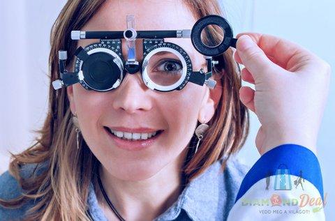 Divatos szemüveg készítése Essilor lencsével