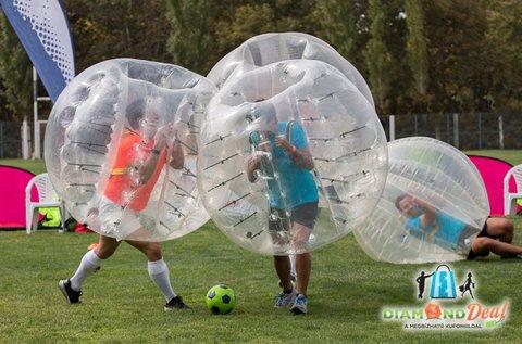 Sport és szórakozás buborékfoci bérléssel