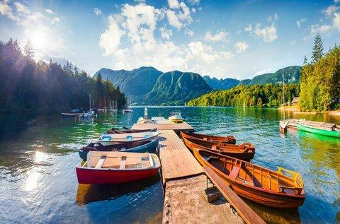 Év végi kikapcsolódás a festői Bohinji-tó partján