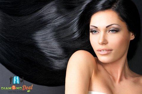 Trendi frizura hajfestéssel, fazonra vágással