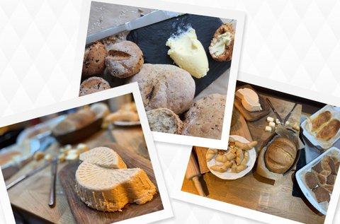 Házi sajt, kenyér, kovász, vaj, joghurt készítés