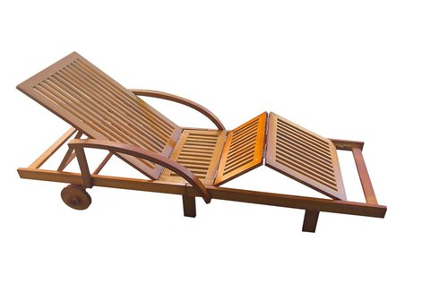 Pihenőágy állítható háttámlával és ülőfelülettel