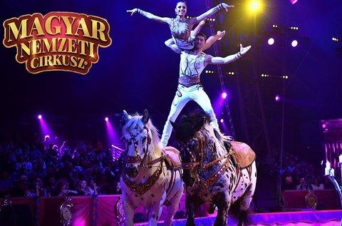 Belépő a Magyar Nemzeti Cirkusz előadására