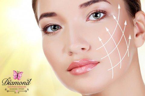 Arcszépítő csomag bőrmegújító arcvasalással