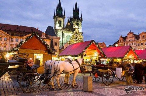 Adventi kocsmatúra a száztornyú Prágában