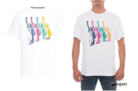 Tommy Jeans Liberty Statue férfi póló