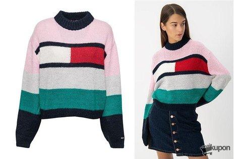 Trendi Tommy Jeans női kötött pulóver