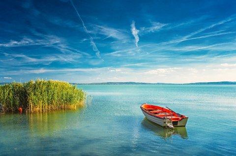 Gondtalan pihenés a Balatonnál, hétvégén is