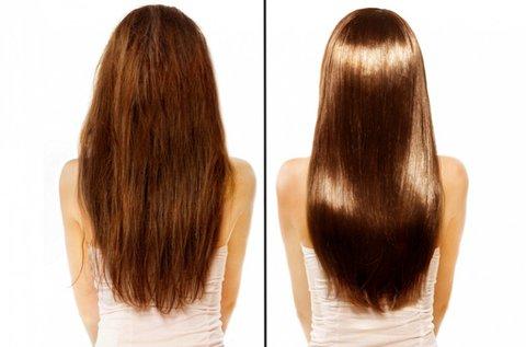 Keratinsokk luxus hajszerkezet építő kezelés