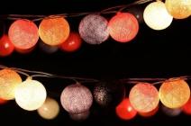 1de30efc00f7 Napelemes, LED-es lampionfüzér 10 db lampionnal (240 cm) 3.450 Ft ...