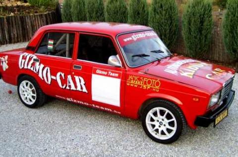 Rallyélmény 10 körön át egy Lada 2105-ös autóval
