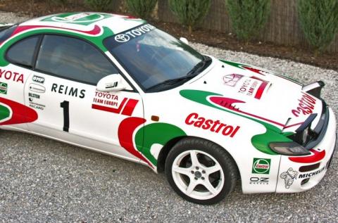 Élvezd a száguldást egy Toyota Celica rallyautóval!