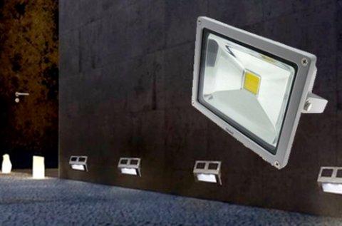 10 W-os LED reflektor kül-  és beltéri használatra
