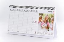 asztali naptár kupon Egyedi fényképes álló asztali naptár 54 lapos kivitelben 13 képpel  asztali naptár kupon