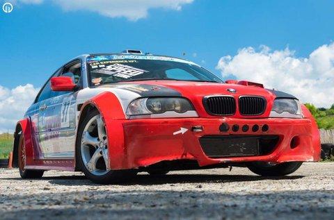 Drift élmény egy BMW E46 AC Schnitzer-rel