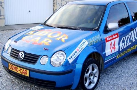 15 kör vezetés egy VW Polo rallyautóval Nagykállón