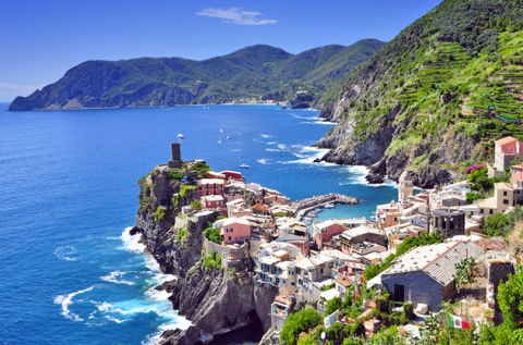 7 napos csillagtúra Cinque Terre partszakaszán