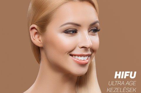 HIFU Ultra Age bőrfiatalító, feszesítő arckezelések