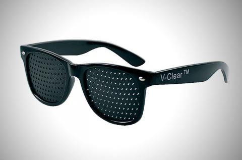 Raszter látásjavító, szemtréner szemüveg