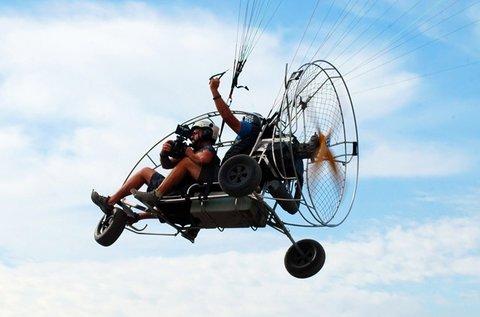 20 perces tandem siklóernyőzés