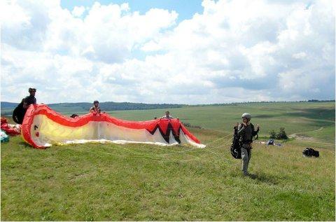 Tandem siklóernyőzés profi pilótával