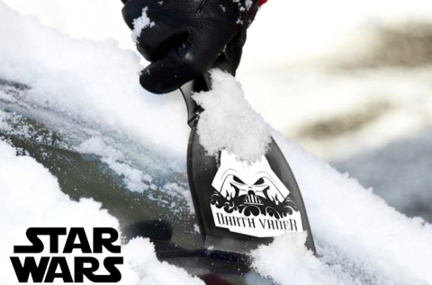 Star Wars-os jégkaparó Darth Vader képével