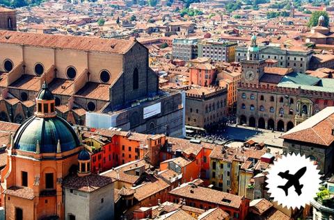 4 napos látogatás Bolognában repülővel