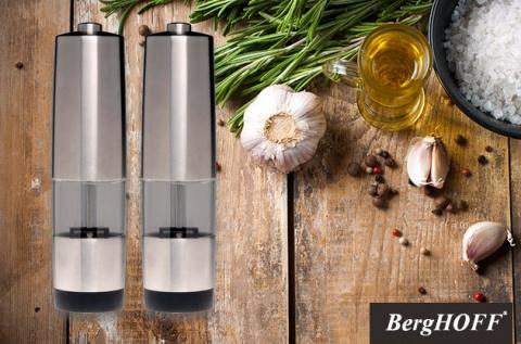 BergHoff Geminis elektromos só- és borsőrlő