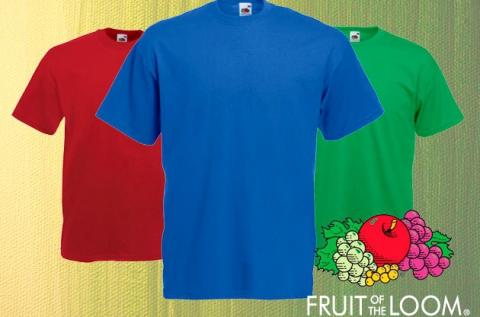3 db rövid ujjú Fruit of the Loom férfi póló