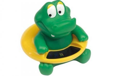 Vízen lebegő, krokodil vízhőmérő