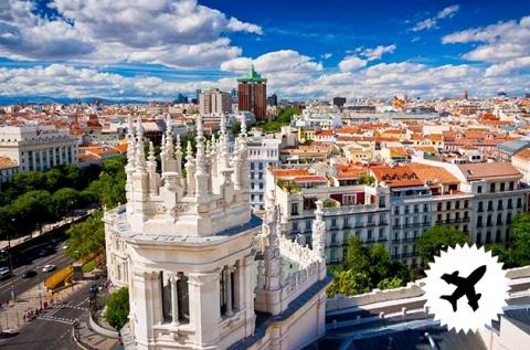 4 napos városnézés a csodás Madridban repülővel
