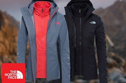 The North Face női kabátok kivehető polár béléssel