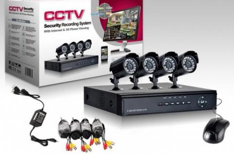 Profi biztonsági rendszer megfigyelő központtal