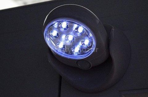 Mozgásérzékelős, szuperfényes LED lámpa