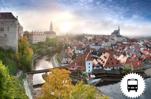 Buszos utazás Prágába és Cesky Krumlov-ba