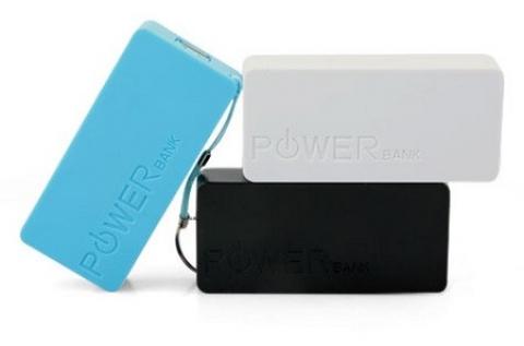 Hordozható powerbank 5600 mAh-s kapacitással