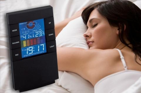 Stealth ébresztőóra LCD kijelzővel