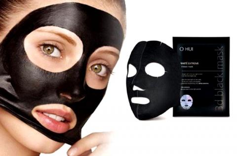 10 db pórustisztító koreai fekete maszk