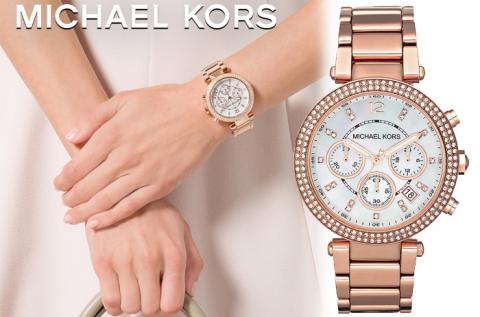 Michael Kors Parker rózsaarany női karóra