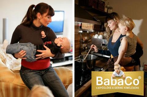 BabaCo gerinckímélő csípőülőke több színben