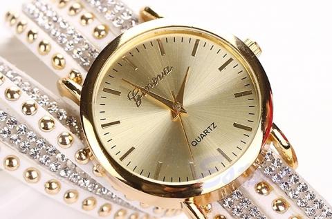 Geneva strasszköves női óra állítható szíjjal 5.790 Ft helyett 2.290 ... 3ef8dd5af4