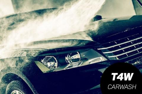 Külső autómosás üléskárpit tisztítással