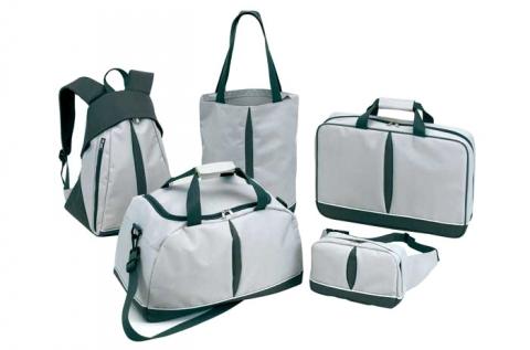 5 részes praktikus táska szett szürke színben
