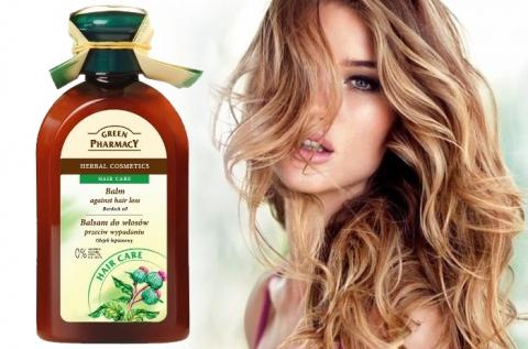 Green Pharmacy hajhullás elleni hajbalzsam