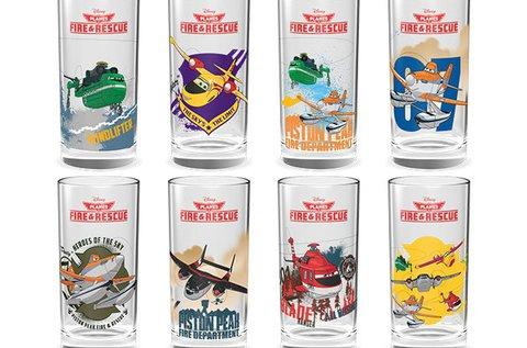 Disney Repcsik mintás 6 db-os pohárkészlet